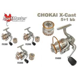 Безынерционная катушка Surf Master Chokai X-Cast FX 1000